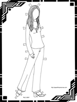 Click here For Full Sized Paper Doll to Print