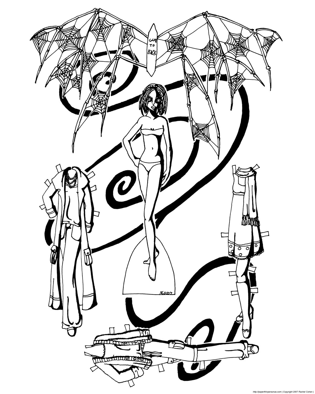 bone fairy and hiatuspaper thin personas paper thin personas. Black Bedroom Furniture Sets. Home Design Ideas
