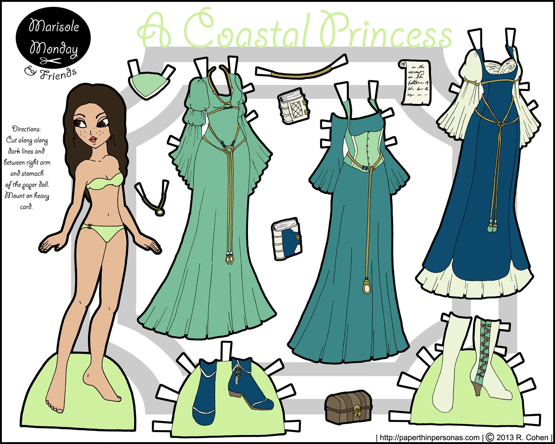 Marisole Monday Coastal Princess In Coastal Colors