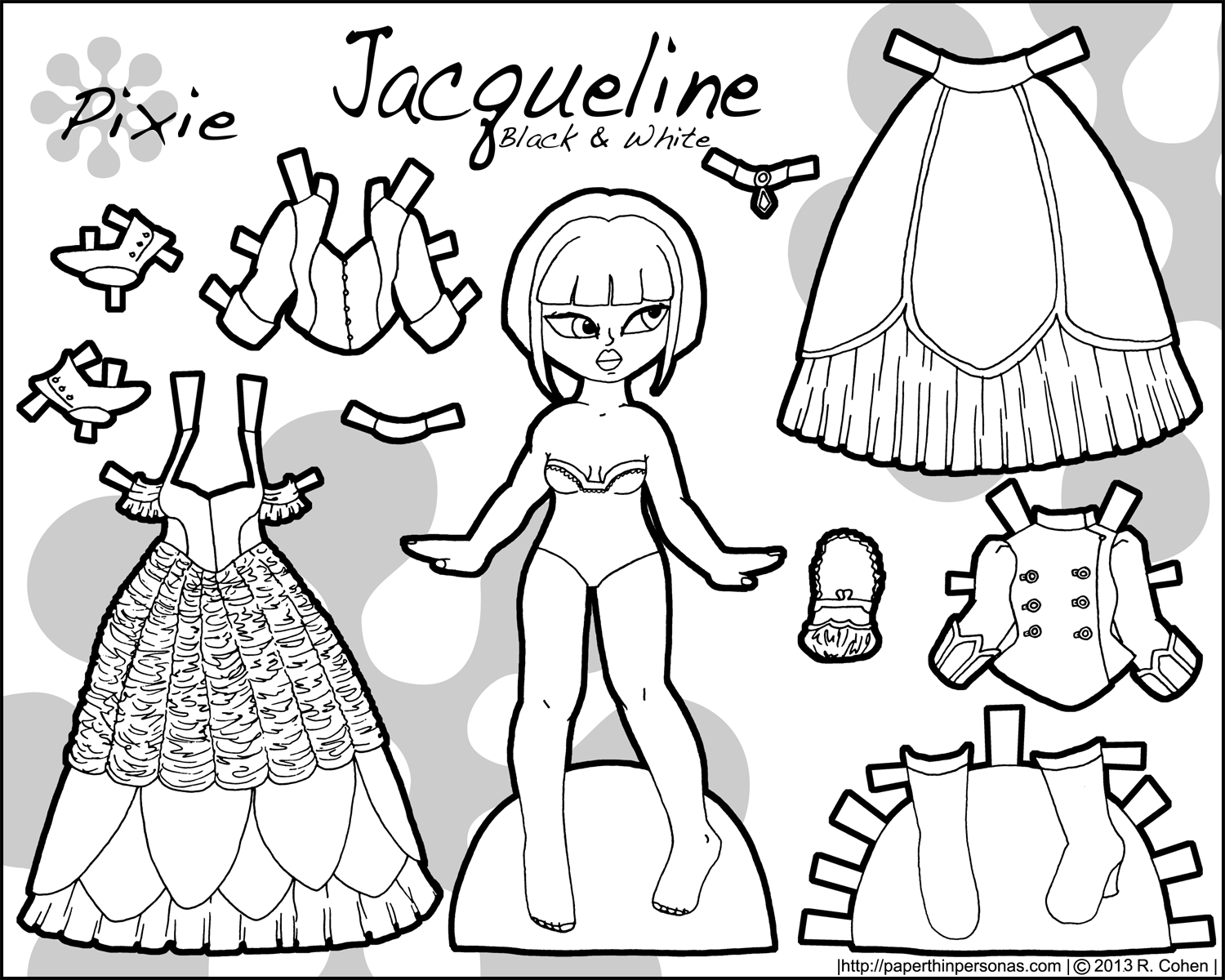 Free coloring pages of jacqueline wilson