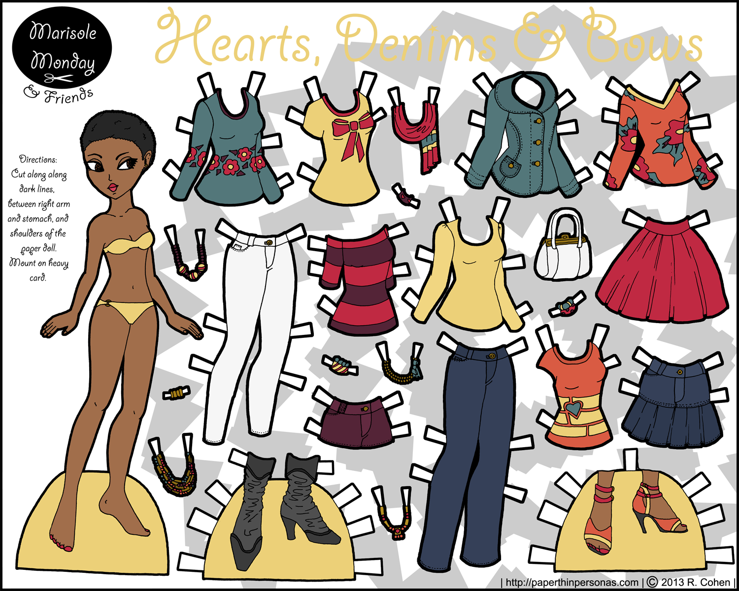 printable paperdolls page links - photo #30
