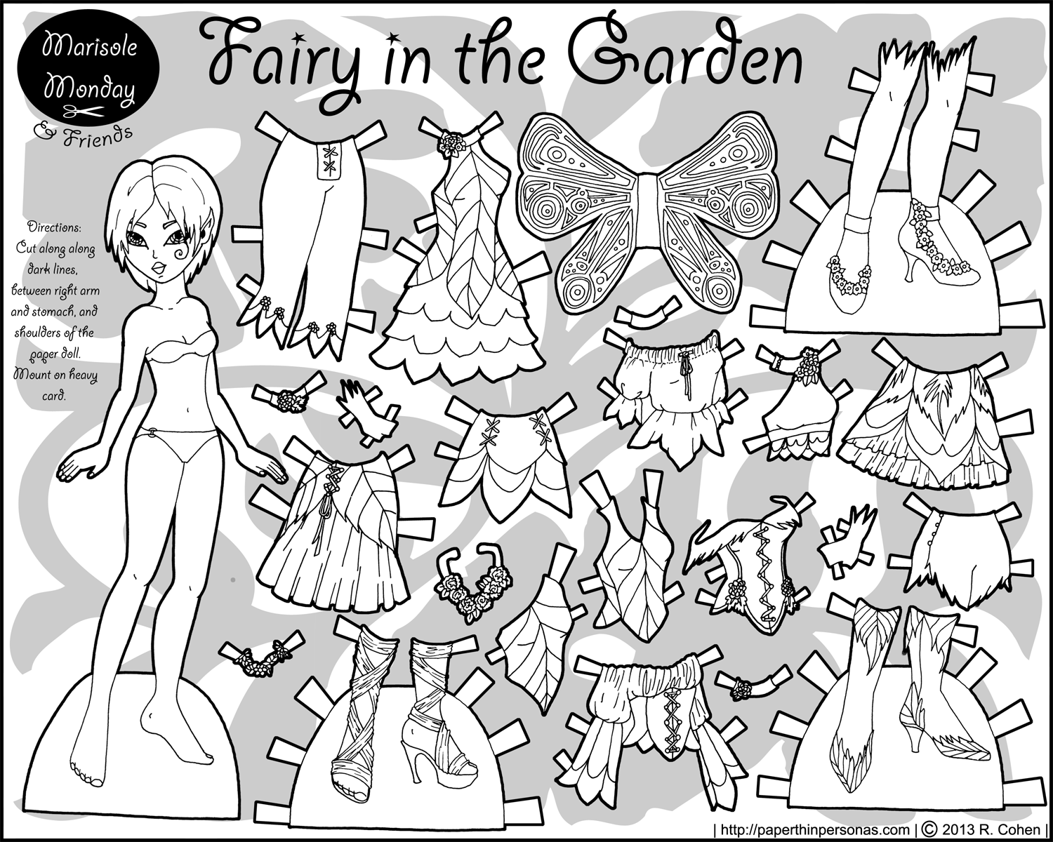 Marisole Monday amp Friends Mia As A Fairy In The Garden