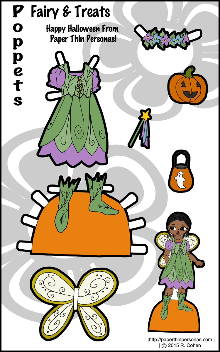 Victorian paper doll clothes for the Poppet paper dolls coloring pages