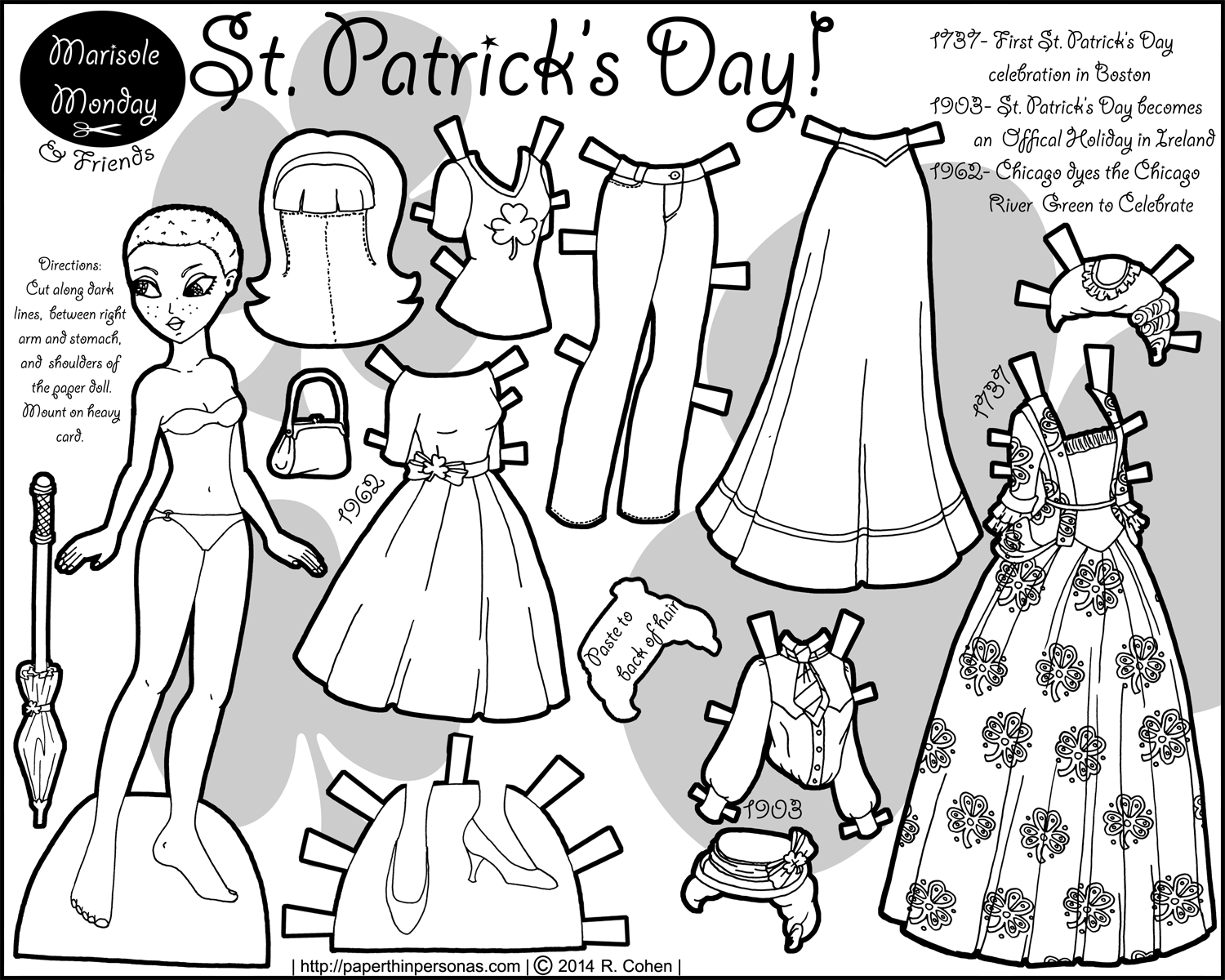 It is an image of Soft Printable Paper Dolls