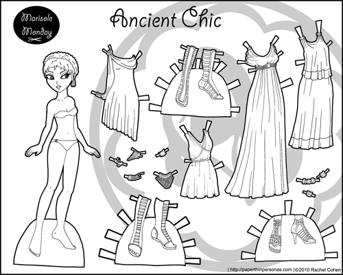Thumbnail link image printable paper doll