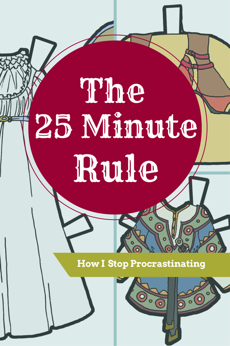 The 25 Minute Rule: How I stop Procrastinating & Get Started
