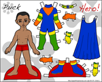 Thumbnail of the Printable Paper Doll