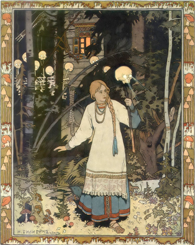 Illustration by Russian artist Ivan Bilibin