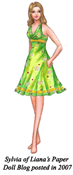 A paper doll by Liana's Paper Doll Blog