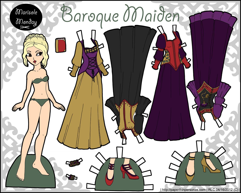 Marisole Monday Baroque Maiden O Paper Thin Personas