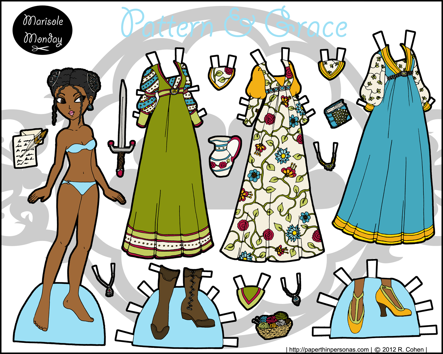 Marisole Monday: Pattern & Grace- Full Color • Paper Thin Personas