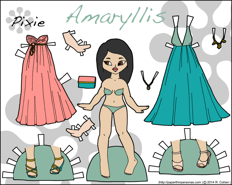 amaryllis-paper-doll-color