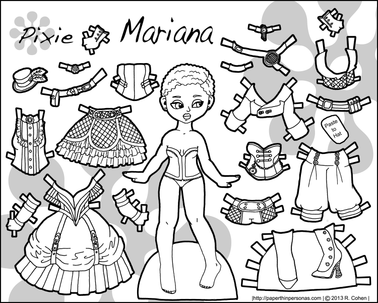 bw-steampunk-paper-doll-mariana