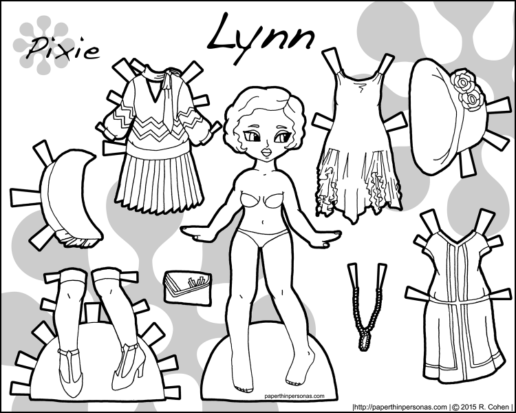 lynn-1920-historical-paper-doll-bw