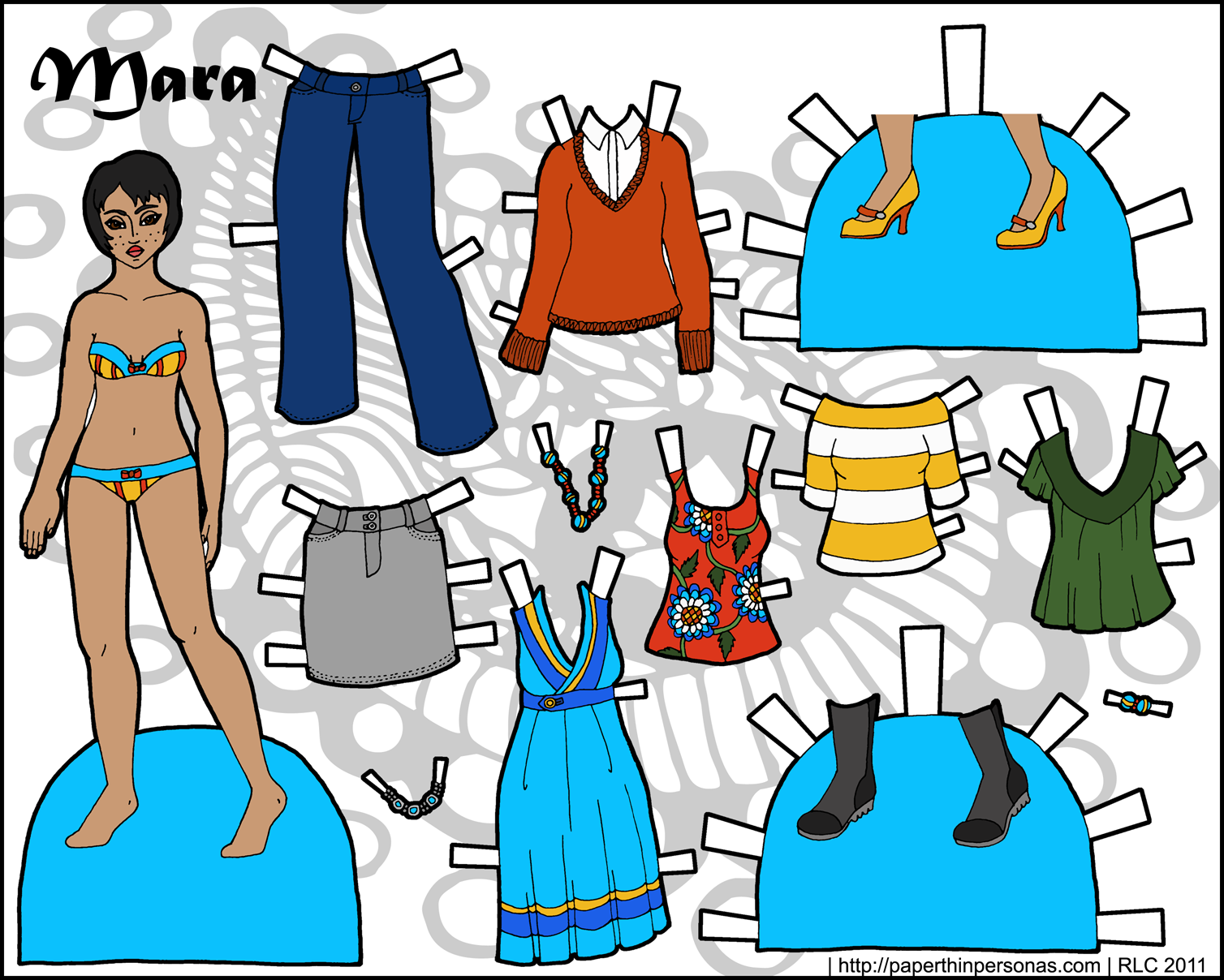 here for a png of the paper doll set