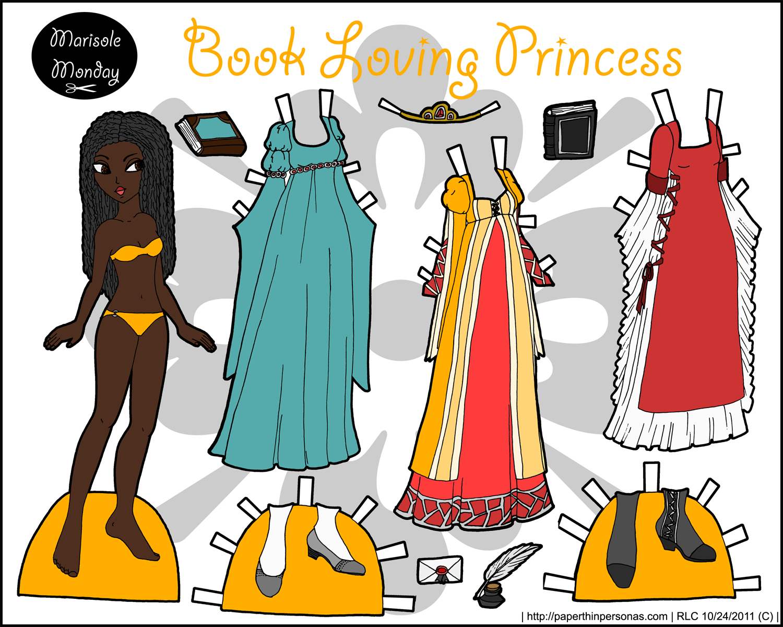 Marisole Book Princess Paper Doll