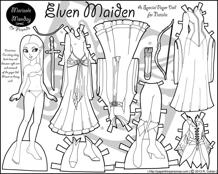 marisole-elven-princess-bw
