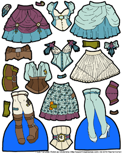thumb_robin_cinderella_steampunk_magnetic_paper_doll