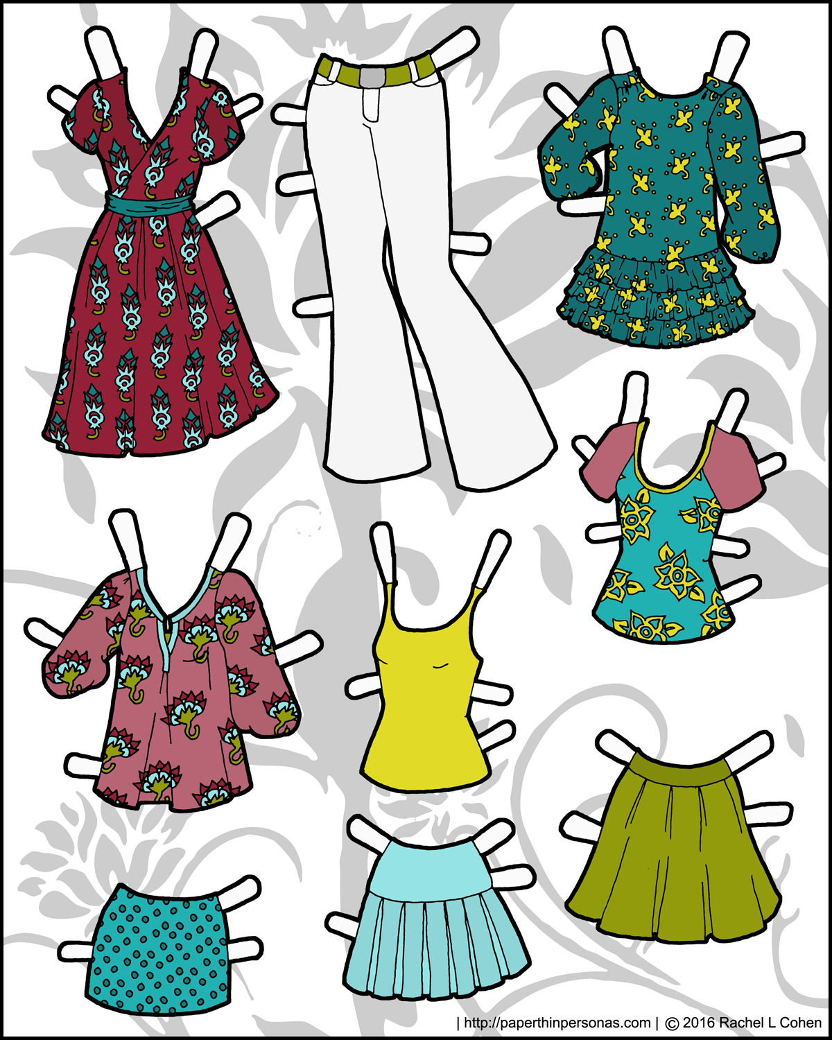 Soft image regarding paper doll clothes printable